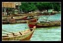 Segiling Village fishermen boats