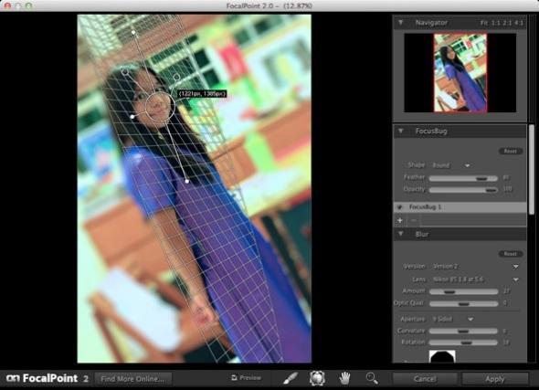 Screenshot FocalPoint