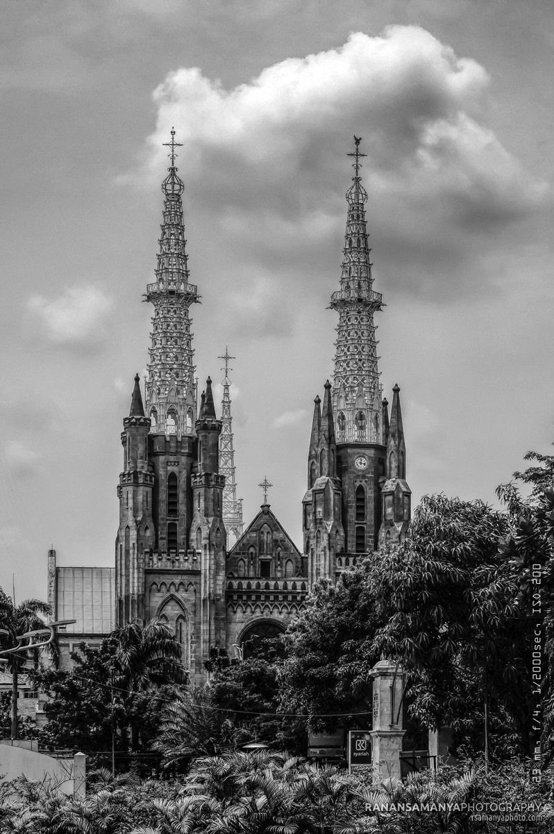 Towers of Jakarta Cathedral